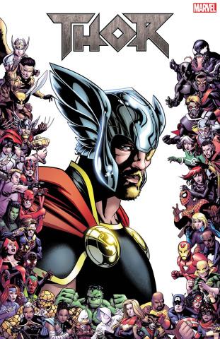 Thor #16 (McKone Marvel 80th Anniversary Frame Cover)