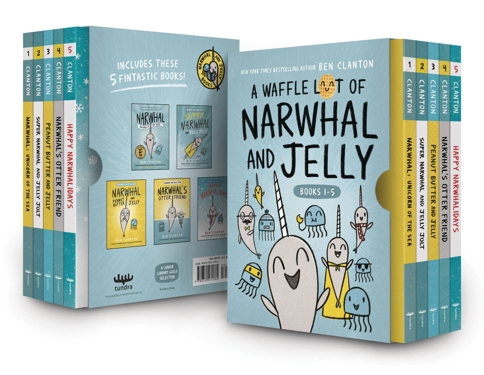 A Waffle Lot of Narwhal and Jelly (Box Set)