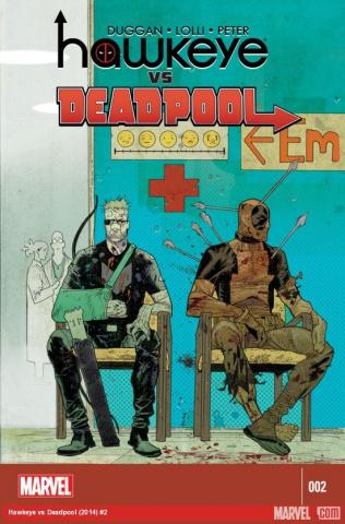 Hawkeye vs. Deadpool #2