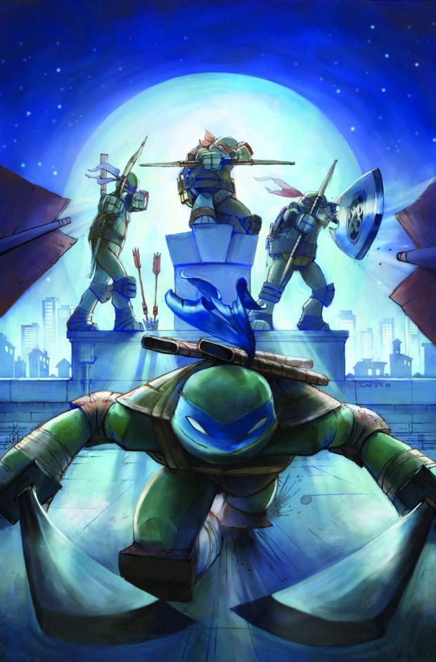 Teenage Mutant Ninja Turtles: New Animated Adventures #14 (Subscription Cover)