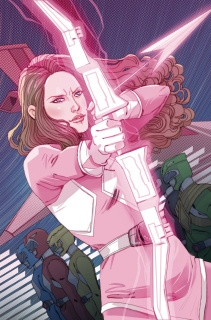 Mighty Morphin' Power Rangers: Pink #1 (10 Copy Sauvage Cover)