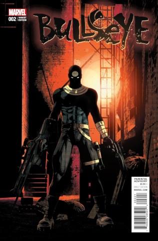 Bullseye #2 (Variant Cover)