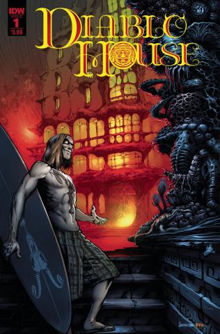 Diablo House #1 (Santiperez Cover)