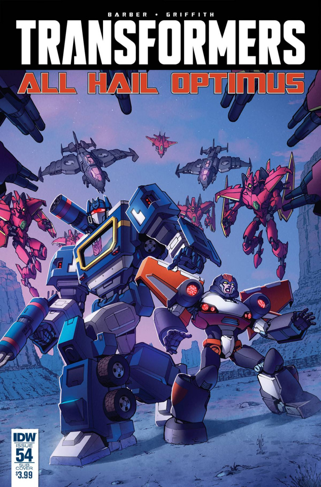 The Transformers #54 (Subscription Cover)