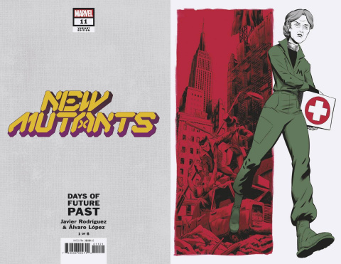 New Mutants #11 (Rodriguez Days of Future Past Cover)
