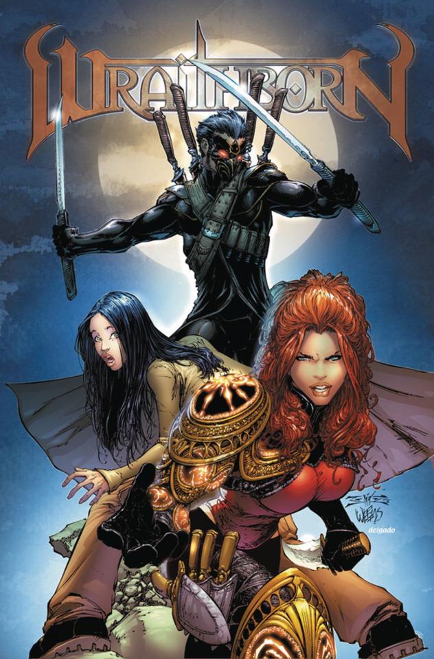 Wraithborn #6 (10 Copy Cover)