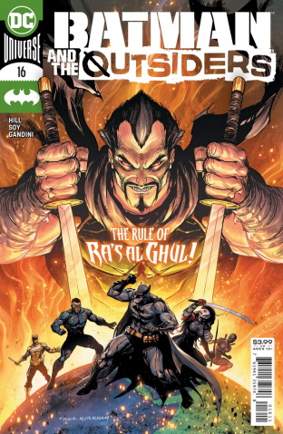 Batman and The Outsiders #16 (Tyler Kirkham Cover)