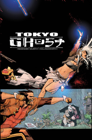 Tokyo Ghost #8 (Murphy & Hollingsworth Cover)