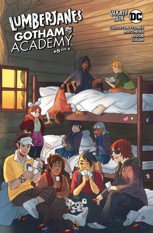Lumberjanes / Gotham Academy #5 (Subscription Matthews Cover)