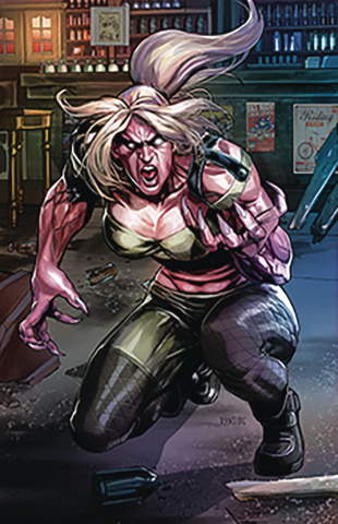 Van Helsing vs. The League of Monsters #2 (Pasibe Cover)