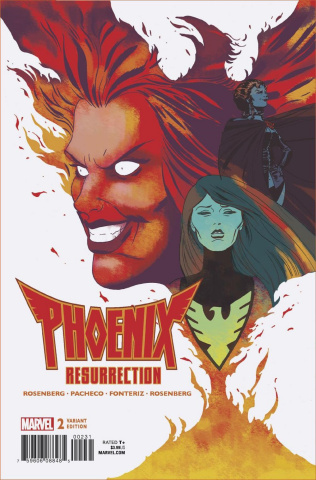 Phoenix Resurrection: The Return of Jean Grey #2 (Martin Cover)