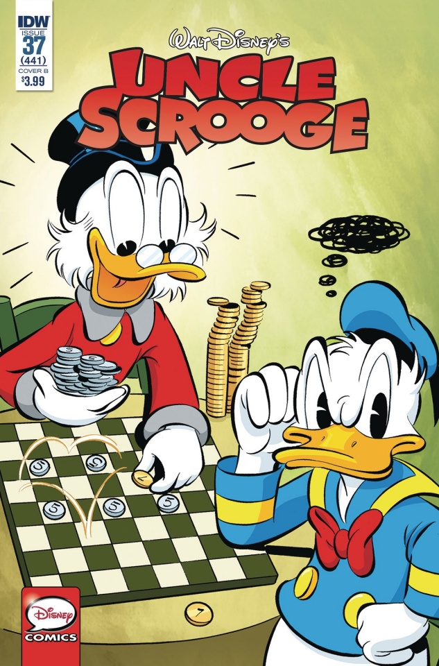 Uncle Scrooge #37 (Migheli Cover)