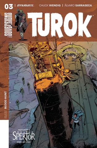 Turok #3 (Sarraseca Cover)