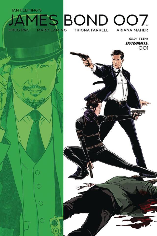 James Bond: 007 #1 (Laming Cover)