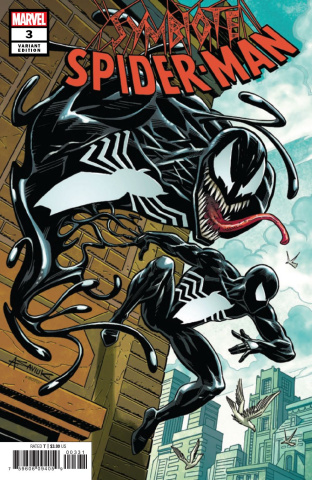 Symbiote Spider-Man #3 (Saviuk Cover)
