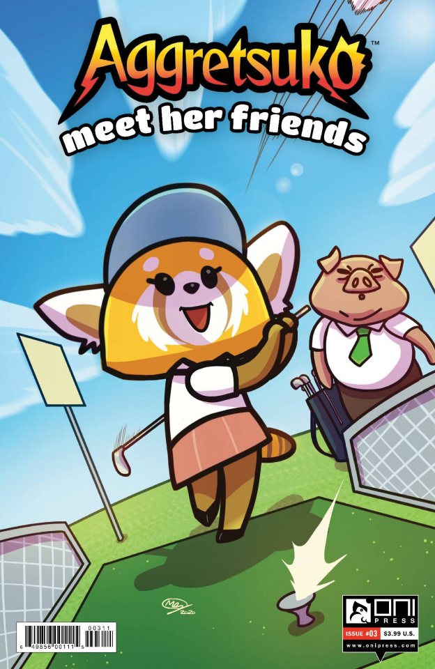 Aggretsuko: Meet Her Friends #3 (Huang Cover)
