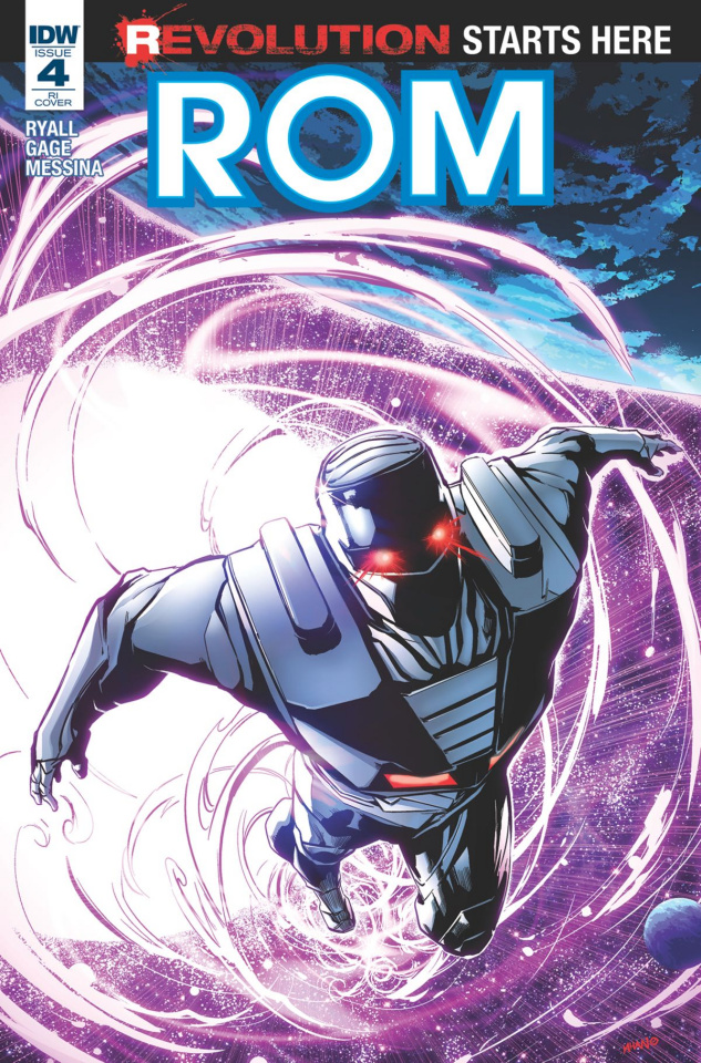 ROM #4 (10 Copy Cover)