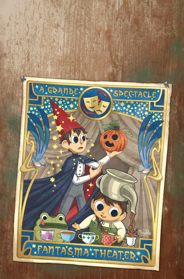 Over the Garden Wall: Soulful Symphonies #1 (Preorder Pena Cover)