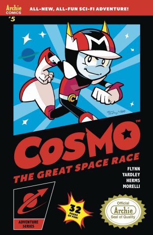 Cosmo #5 (Game Box Art Cover)