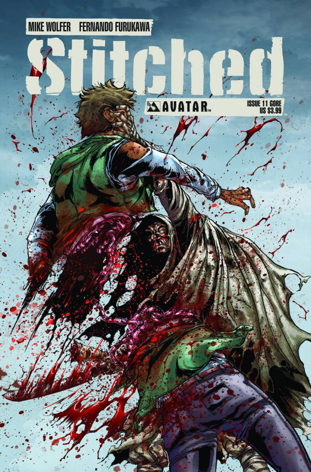 Stitched #11 (Gore Cover)