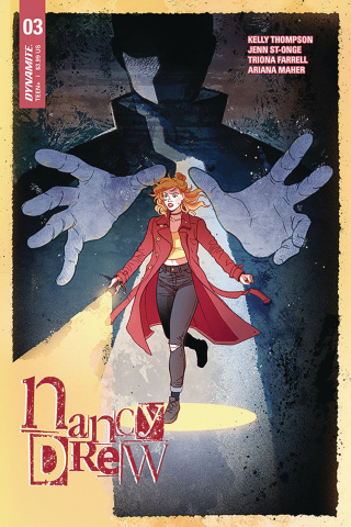 Nancy Drew #3 (Ganucheau Cover)