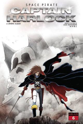 Space Pirate: Captain Harlock #6 (Alquie Cover)