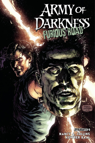 Army of Darkness: Furious Road #5 (Hardman Cover)