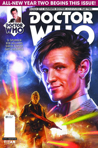 Doctor Who: New Adventures with the Eleventh Doctor, Year Two #1 (Ronald Cover)
