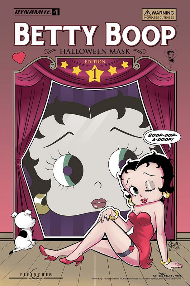 Betty Boop #1 (Lagace Costume Cover)