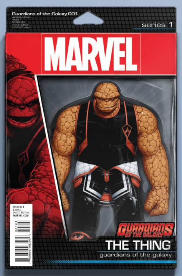 Guardians of the Galaxy #1 (Christopher Action Figure Cover)