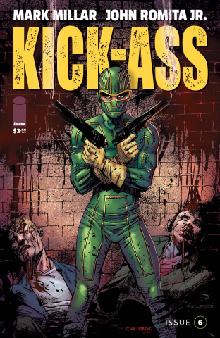 Kick-Ass #6 (Cowan Cover)