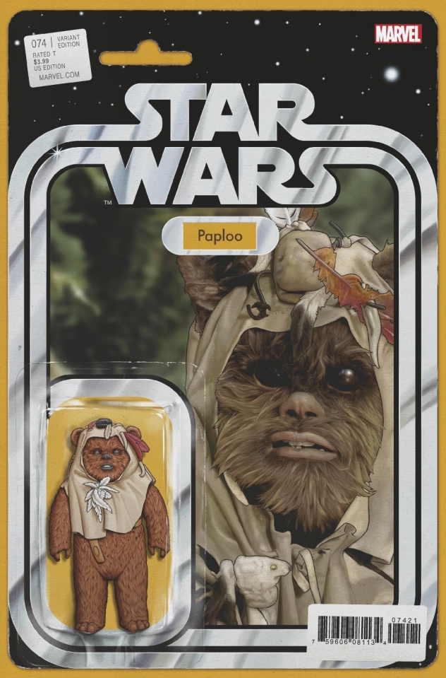 Star Wars #74 (Christopher Action Figure Cover)