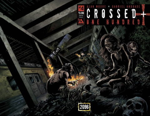 Crossed + One Hundred #4 (American History X Wrap Cover)