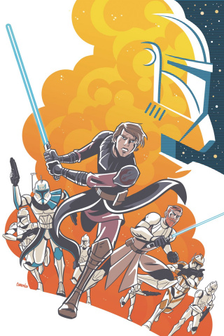 Star Wars Adventures: The Clone Wars #1 (Charm Cover)