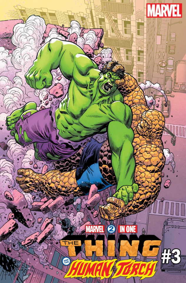 Marvel Two-In-One #3 (Hawthorne Hulk Cover)