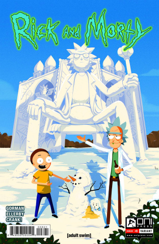 Rick and Morty #8 (Bletsis Cover)