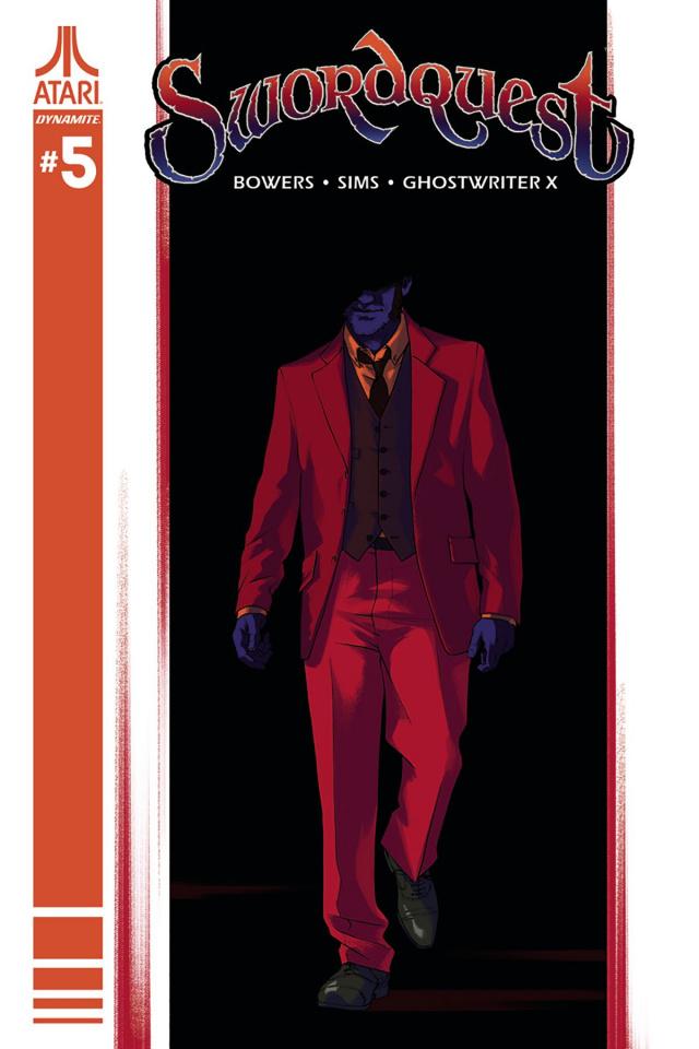 Swordquest #5 (Montes Cover)
