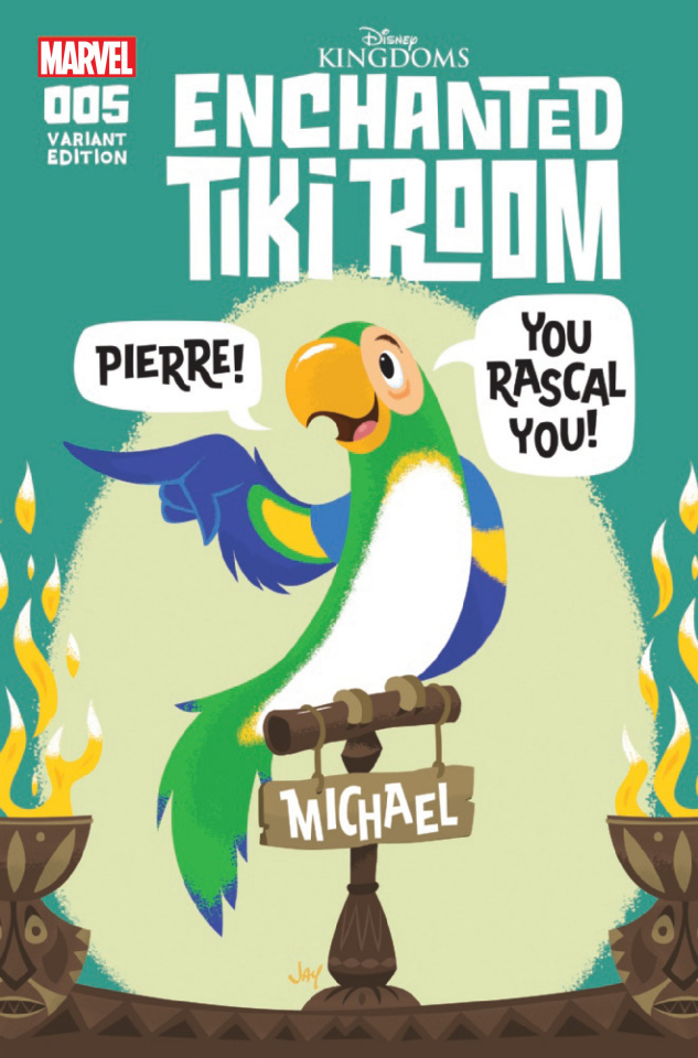 Enchanted Tiki Room #5 (Grandt Connecting Cover)