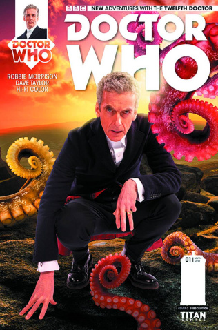 Doctor Who: New Adventures with the Twelfth Doctor #2 (Subscription Cover)