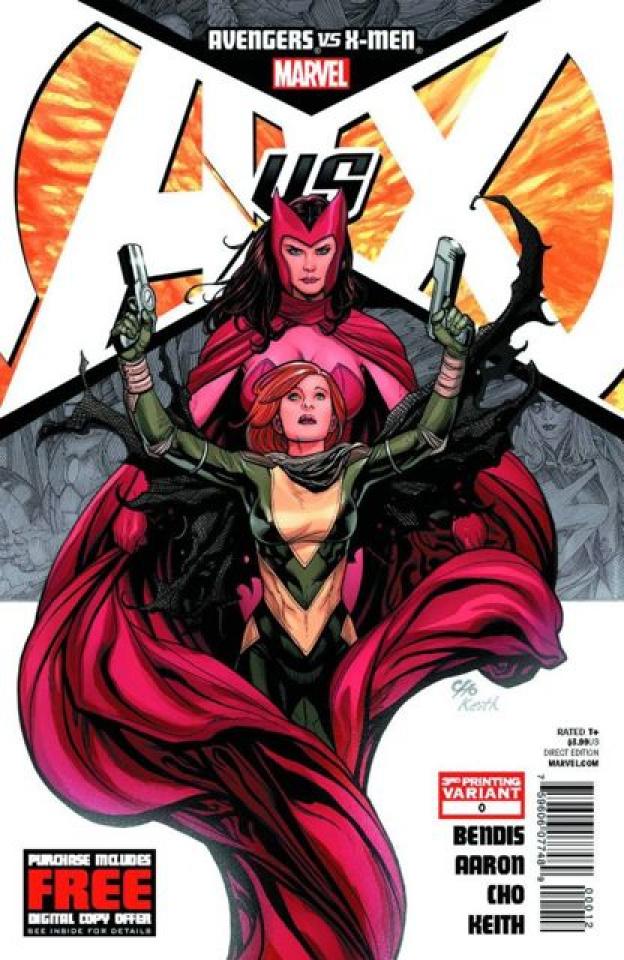 Avengers vs. X-Men #0 (3rd Printing)