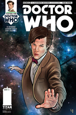 Doctor Who: New Adventures with the Eleventh Doctor, Year Three #5 (Casco Cover)