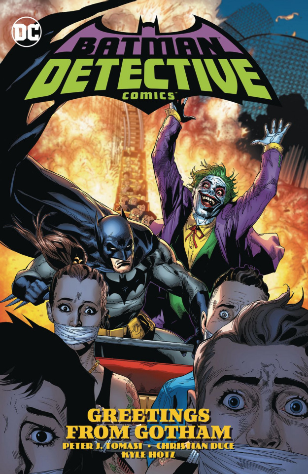 Detective Comics Vol. 3: Greetings From Gotham