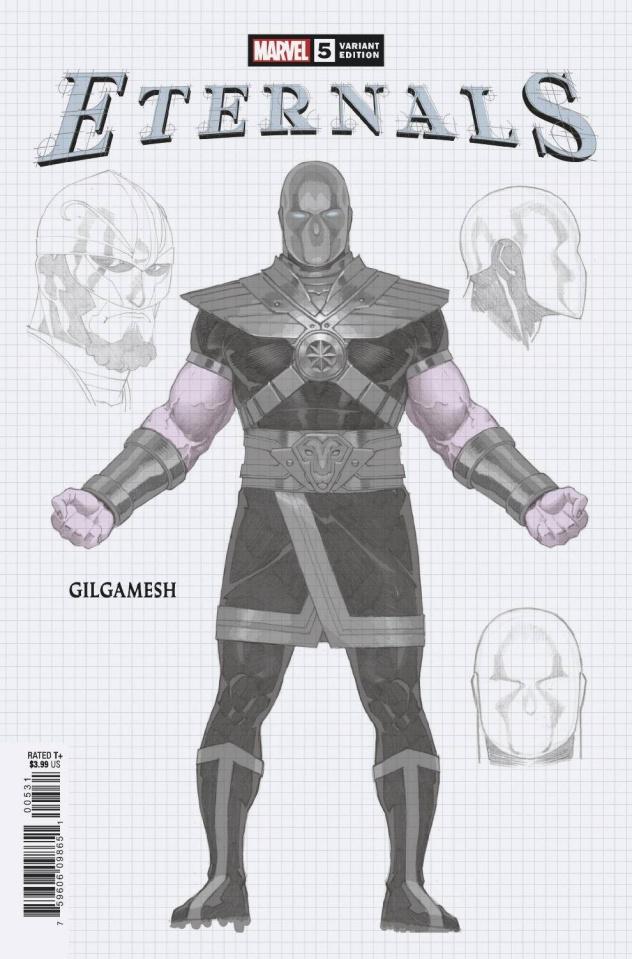 Eternals #5 (Ribic Design Cover)