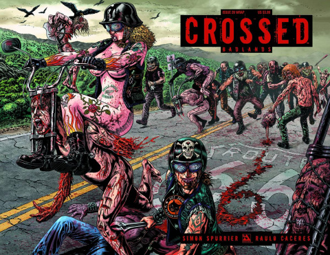 Crossed: Badlands #20 (Wrap Cover)
