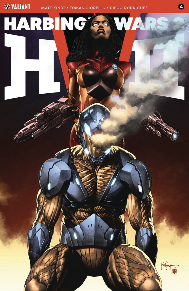 Harbinger Wars 2 #4 (Suayan Cover)