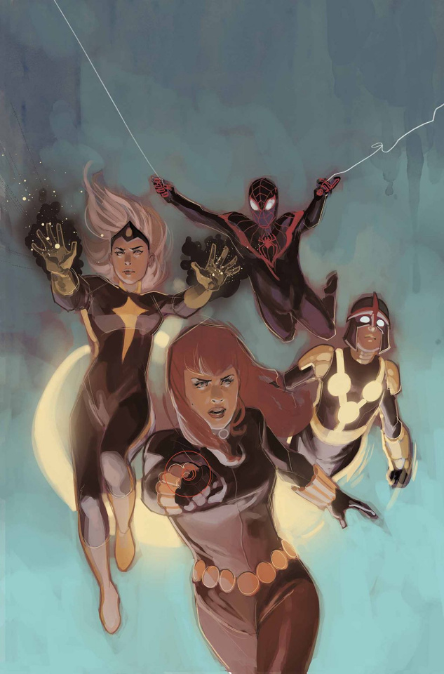 Black Widow #7 (Noto Champions Cover)