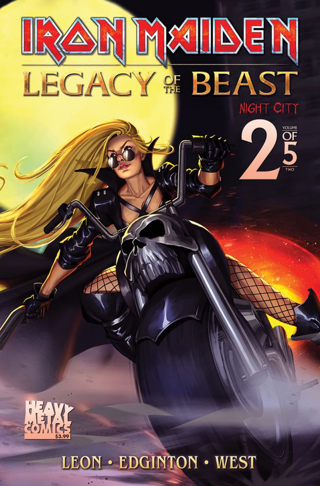 Iron Maiden: Legacy of the Beast - Night City #2 (Cover B)