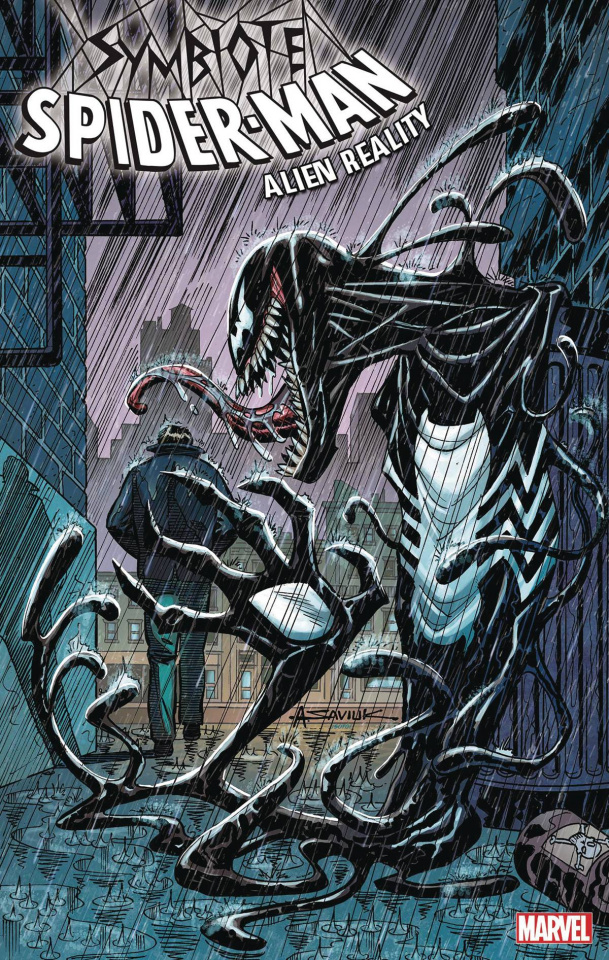 Symbiote Spider-Man: Alien Reality #5 (Saviuk Cover)