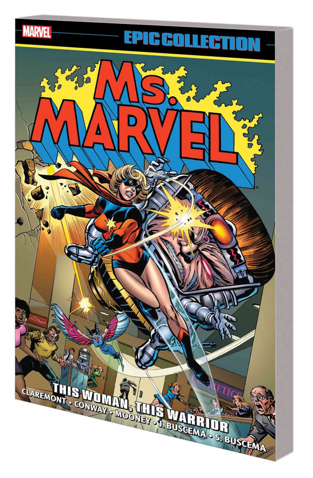 Ms. Marvel: This Woman, This Warrior (Epic Collection)
