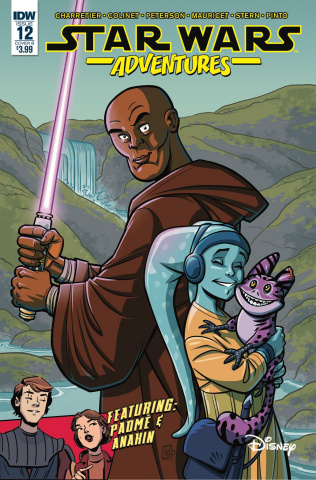 Star Wars Adventures #12 (Mauricet Cover)